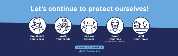 Let`s continue to protect ourselves