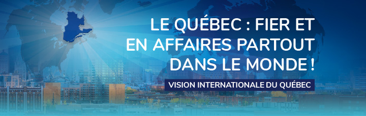 Vision internationale du Québec (French only)